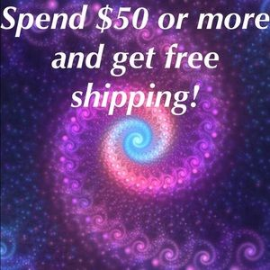 Other - Free Shipping! On $50 or more Bundle up and save!